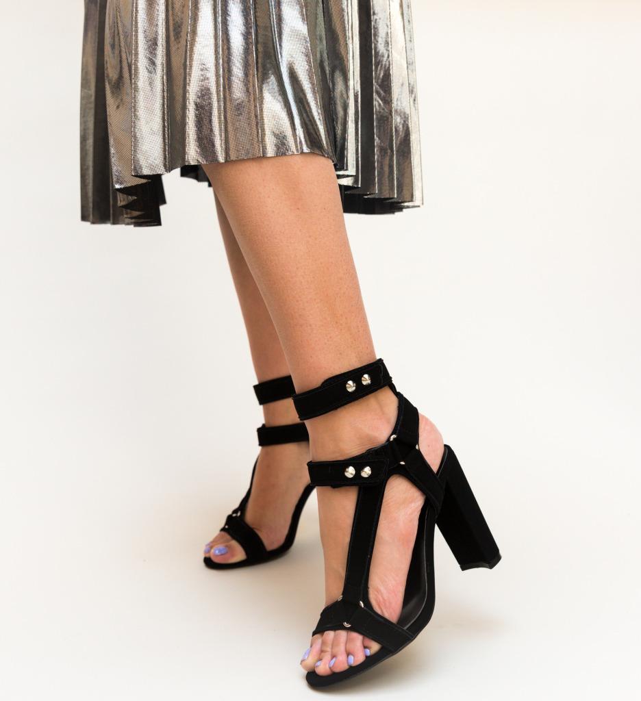 Sandale Nairos Negre