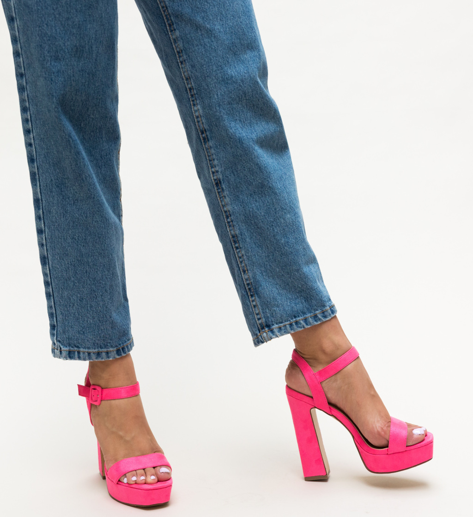 Sandale Poste Roz