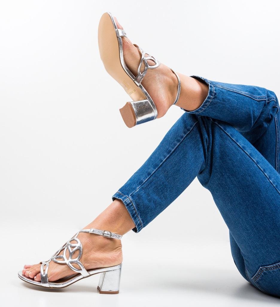 Sandale Praji Argintii