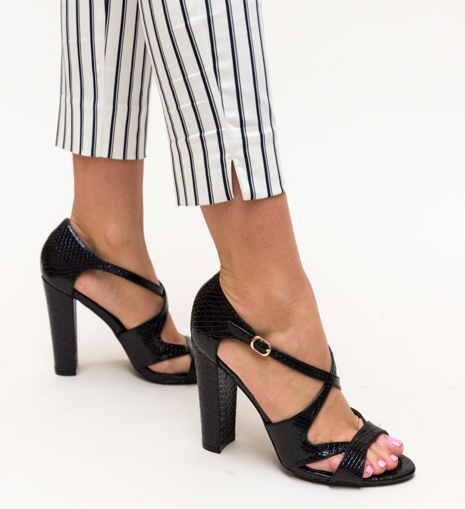 Sandale Samad Negre