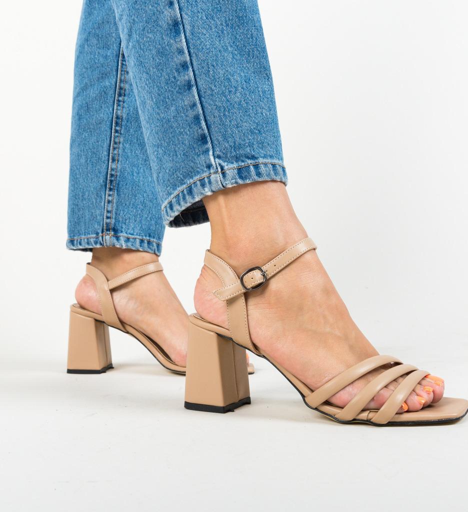 Sandale Sodio Bej