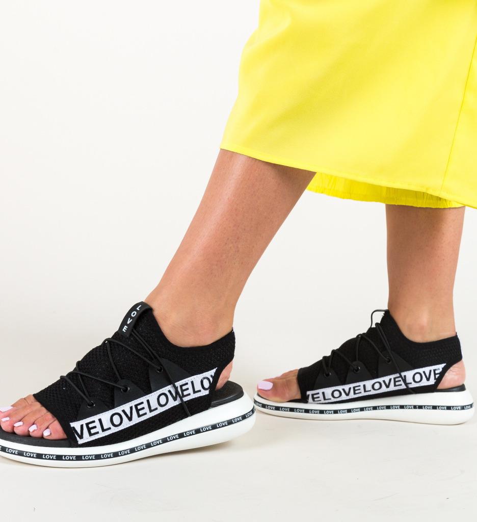 Sandale Storen Negre