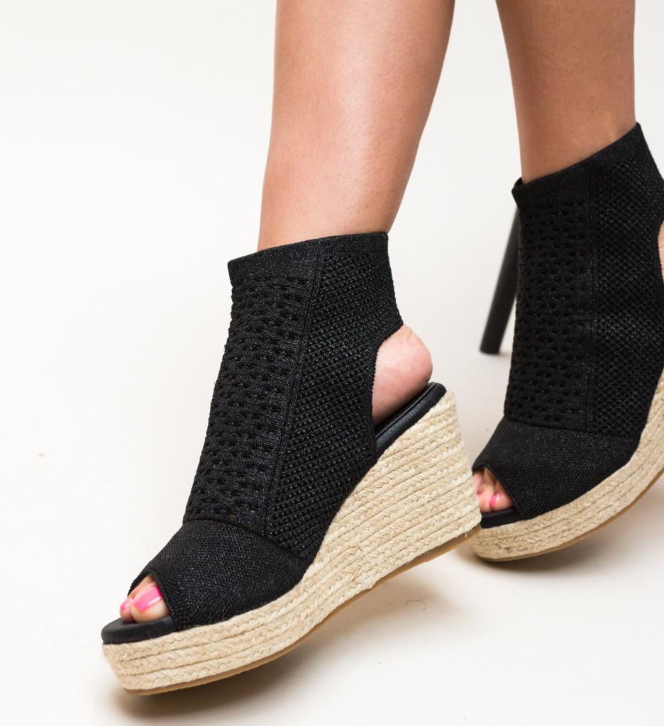 Sandale Wasim Negre