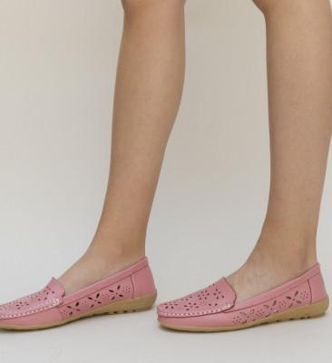 Pantofi Casual Debar Roz