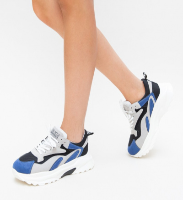 Pantofi Sport Deria Albastri