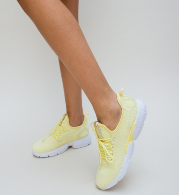 Pantofi Sport Verta Galbeni