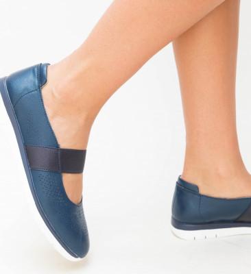 Pantofi Casual Vetin Bleumarin