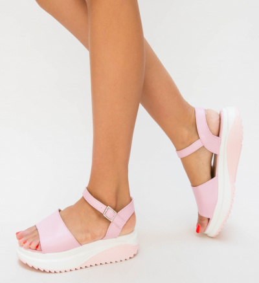 Sandale Pecora Roz 2