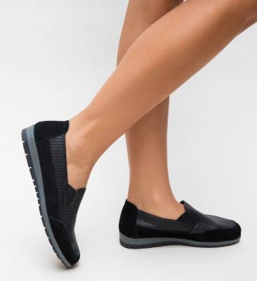 Pantofi Casual Embo Negri