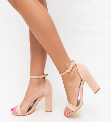 Sandale Klefec Roz
