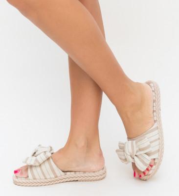 Papuci Tuscana Bej