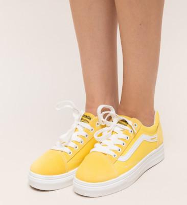 Pantofi Sport Felix Galbeni