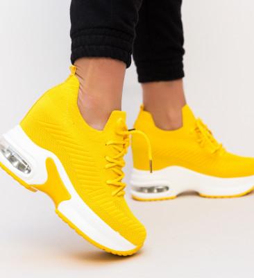 Pantofi Sport Nette Galbeni