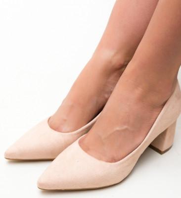 Pantofi Guto Bej