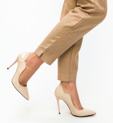 Pantofi Nitel Nude
