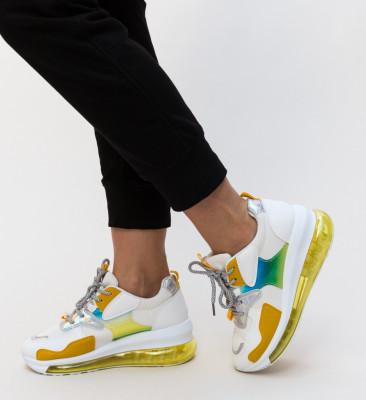 Pantofi Sport Croft Galbeni