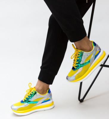 Pantofi Sport Soja Galbeni