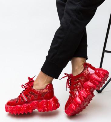 Pantofi Sport Catriona Rosii