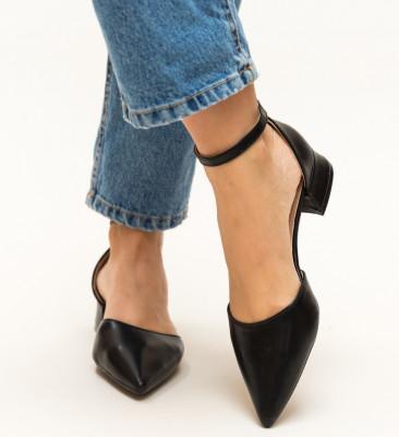 Pantofi Barrera Negri