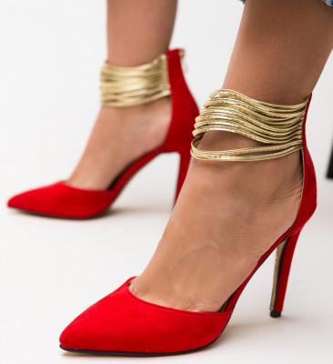 Pantofi Kaia Rosii