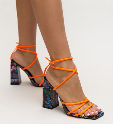 Sandale Epal Portocalii