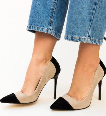 Pantofi Madino Nude