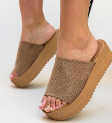 Papuci Sandol Bej