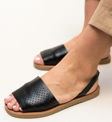 Sandale Peck Negre