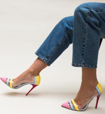 Pantofi Trioda Roz