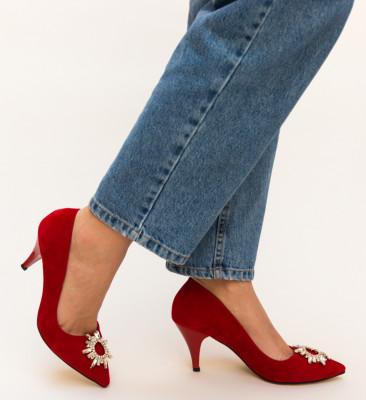 Pantofi Tanya Rosii