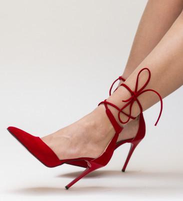 Pantofi Marguta Rosii