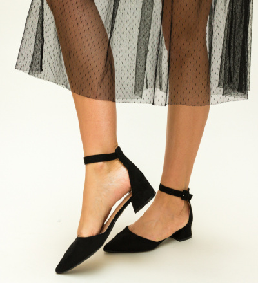 Pantofi Eryn Negri