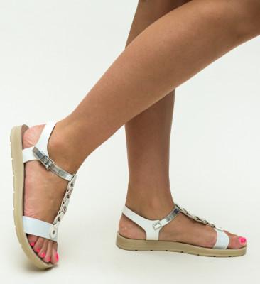 Sandale Sarcon Argintii