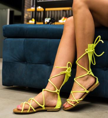Sandale Rigby Verzi (Neon)