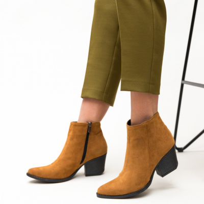 Botine Sely Camel