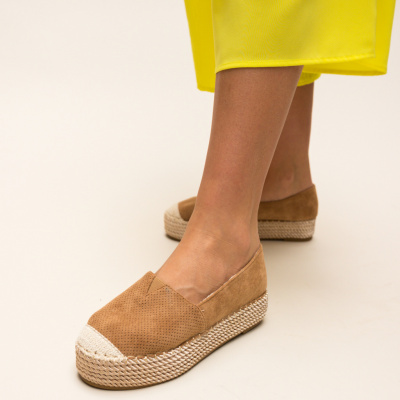 Espadrile Hexagon Camel