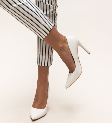 Pantofi Abiha Albi