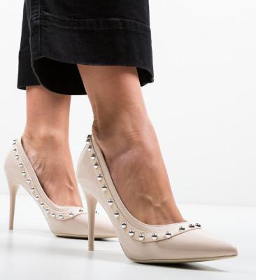 Pantofi Aisli Bej