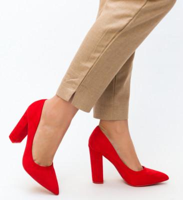 Pantofi Amani Rosii