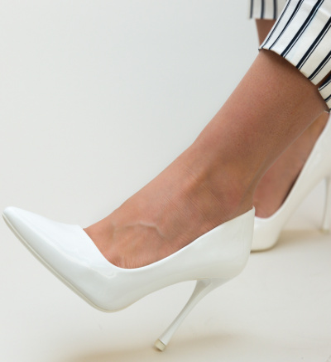 Pantofi Arav Albi