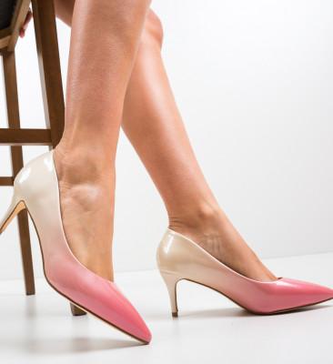 Pantofi Bohe Roz