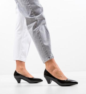 Pantofi Butt Negri