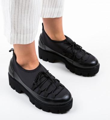 Pantofi Casual Asher Negri 2