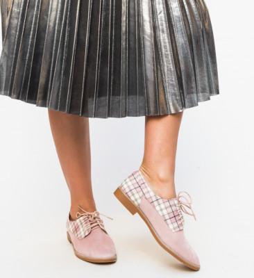 Pantofi Casual Biskrem Roz