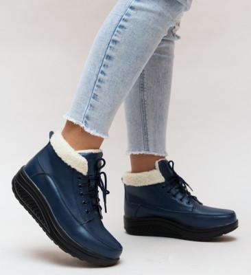 Pantofi Casual Blind Bleu 2