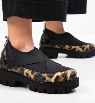Pantofi Casual Buse Negri 2