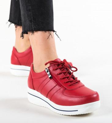 Pantofi Casual Craig Rosii