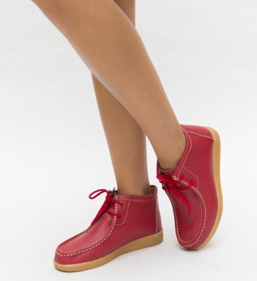 Pantofi Casual Defendo Rosii
