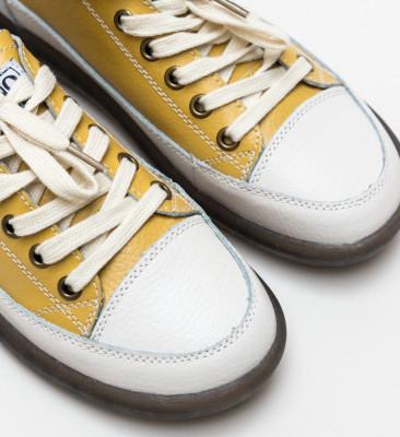 Pantofi Casual Digrio Galbeni