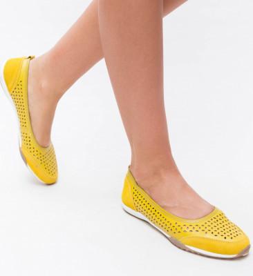 Pantofi Casual Doro Galbeni